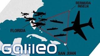 Die rätselhaftesten Verschwörungstheorien um das Bermuda Dreieck | Galileo | ProSieben
