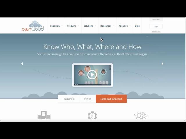 Intro &  Setup - Owncloud