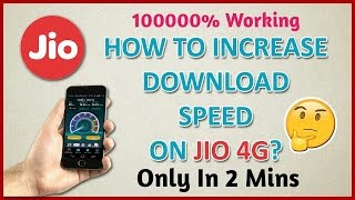 Jio New locked APN settings !! 10 times faster downloading speed !! For happy new year offer