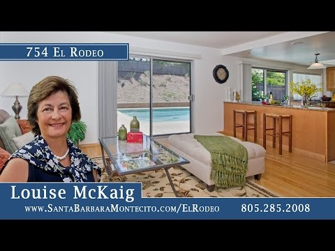 754 El Rodeo slideshow Santa Barbara tour from Village Properties