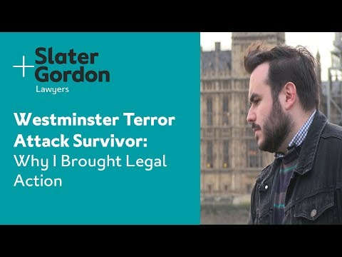 Westminster Terror Attack Survivor: Why I Brought Legal Action