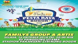 LIVE FAMILYS GROUP STADION PAKANSARI CIBINONG  BOGOR