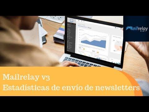 Mailrelay v3 Estadísticas de envío de newsletters