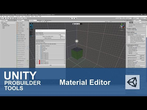 Unity Probuilder Material Editor – INDIE GAME HUSTLE