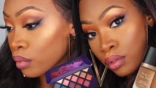 FENTY MOROCCAN SPICE Palette Review + TOO FACED X JACKIE AINA Born This Way | Maya Galore