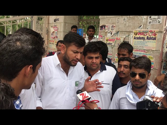 Deepak Malik inso president media bite Jat college rohtak