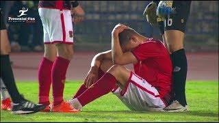 بالفيديو..إصابة قوية لسعد سمير فى القمة 116