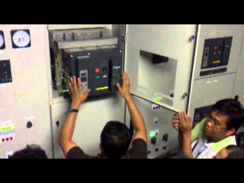Generator Synchronizing Panel Wiring Diagram : Genset synchronizing panel.mp4 youtube