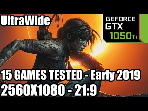 GTX 1050 ti on an UltraWide Monitor - 15 Games Tested - 21:9 - 2560x1080 - Early 2019