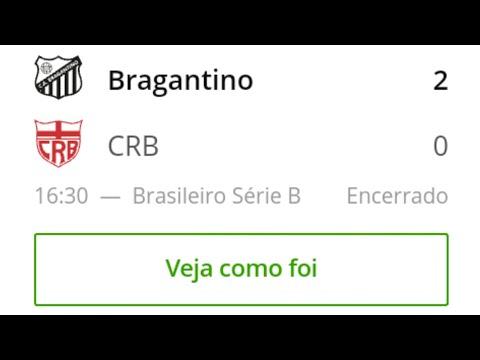 Bragantino 2 x 0 CRB - Gols da Partida - Brasileirão - Série B - 30/11/2019 | Futebol
