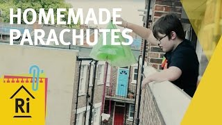 Homemade parachutes - Science with children - ExpeRimental #9