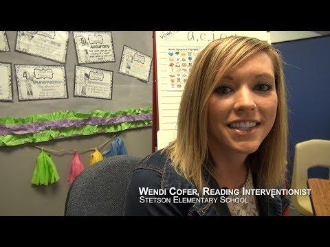 Wendi Cofer, Reading Interventionist - Stetson Elementary School