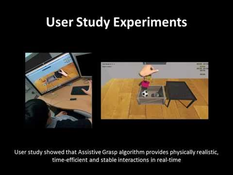 Physics-based Assistive Grasping for Robust Object Manipulation in Virtual Reality