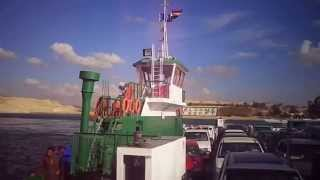 Video Maadity crossing tiger 6 and ship next to the entrance channel of communication
