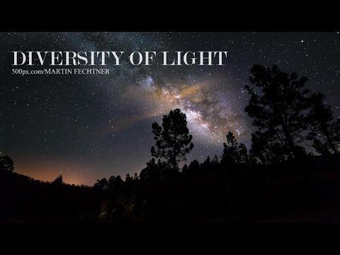 Diversity Of Light - Milky Way Timelapse