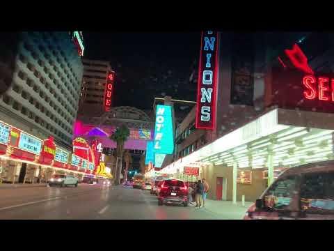 Downtown Fremont street Las Vegas, Nevada America 🇺🇸