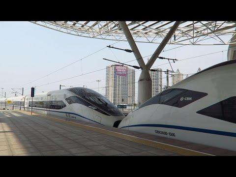 CRH380D+CRH380D, China High-Speed Railway中國高鐵 (Anqing to Shanghai Train)