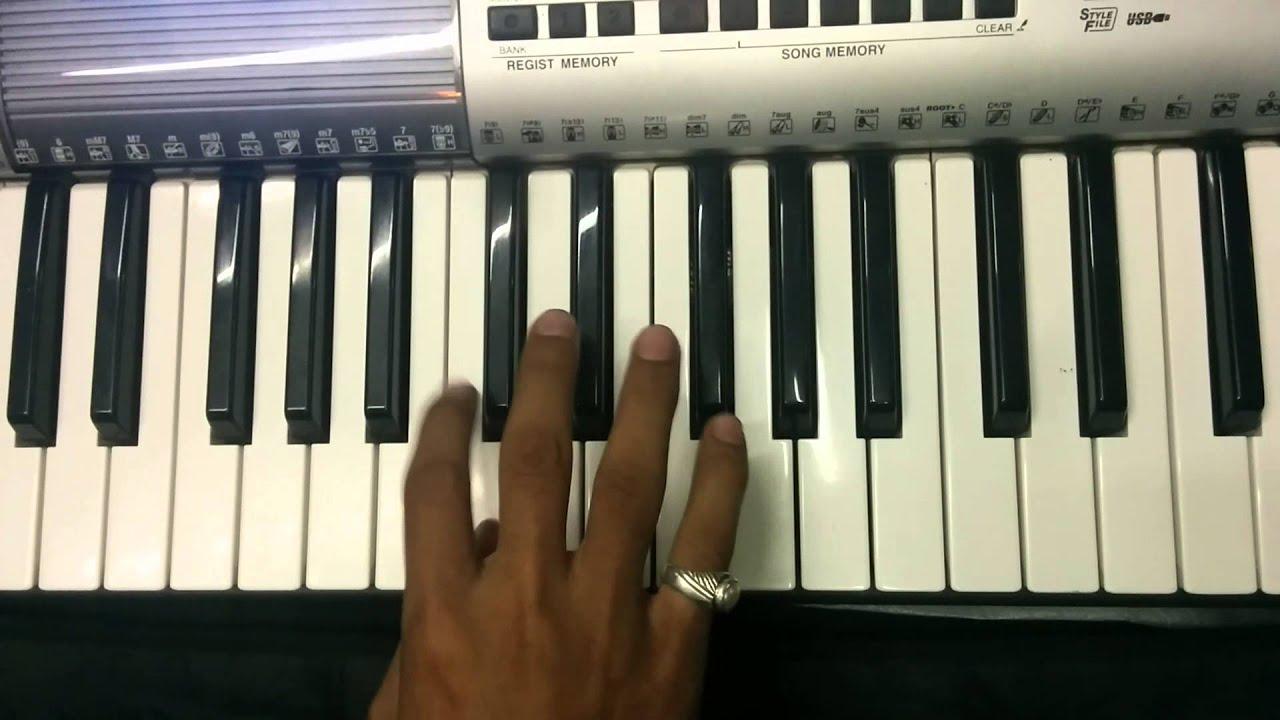 lai bhaari mauli vitthal song on keyboard yamaha organ