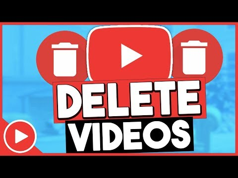How do i delete videos from youtube playlist