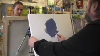 Игорь Сахаров, мастер-класс в Москве, уроки масляной живописи для начинающих