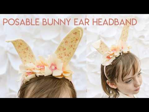 Easy Felt Easter Bunny Ear Headband Tutorial
