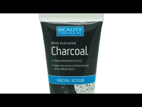Beauty Formulas Facial Scrub With Activated Charcoal Review