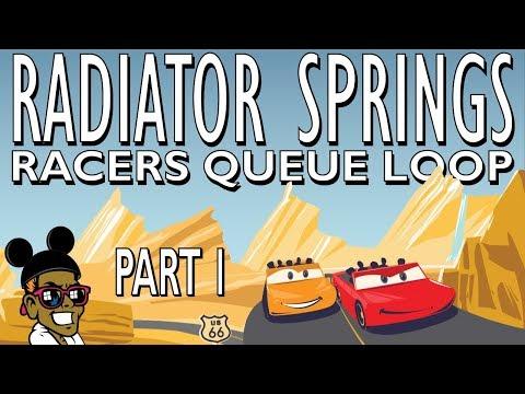 Radiator Springs Racers Queue Loop Music: Part 1
