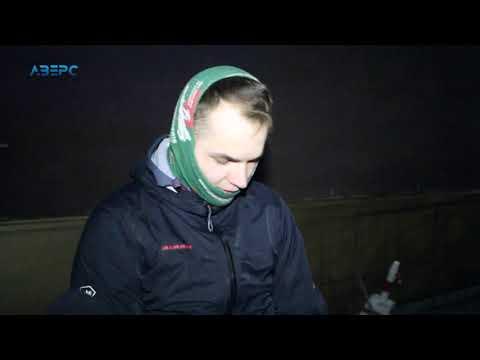 ТРК Аверс: Банер у Луцьку для Порошенка