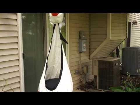 Outdoor or Indoor Children's Hammock Pod Swing Chair