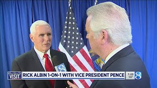 1-on-1 with Vice President Pence