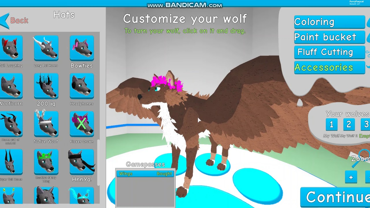 Wings New Accessories Wolves Life Beta Roblox By Alphaura