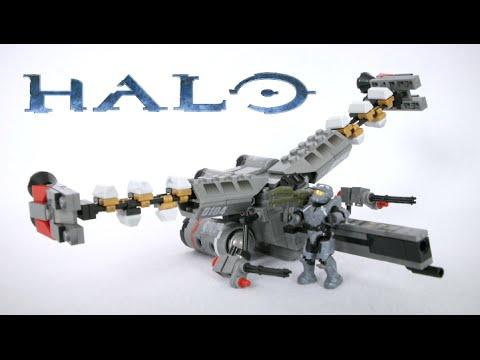 Mega Bloks Halo UNSC Spartan Fred from Booster Frame Set CND02 Mega Construx