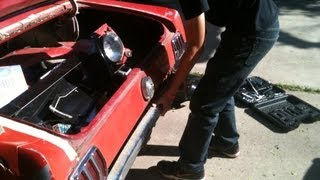 DIY - How To Replace A Quarter Panel on a 1966 Mustang - Part 1