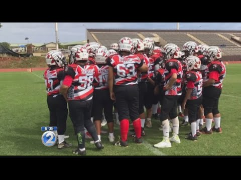 Local business helps youth football group devastated by Island Air