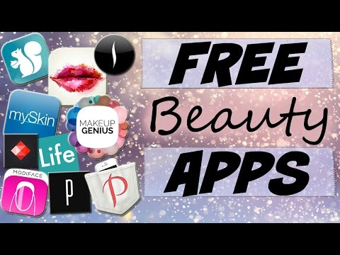 Must Try Free Beauty Apps-Get Out of a Makeup Rut!