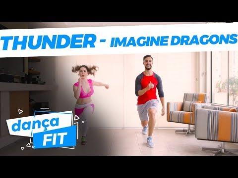 Thunder - Imagine Dragons - Dança Fitness (EMAGREÇA DANÇANDO) | Playdance