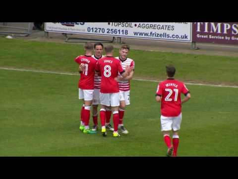 Crewe Alexandra 4-1 Barnet: Sky Bet League Two Highlights 2016/17 Season