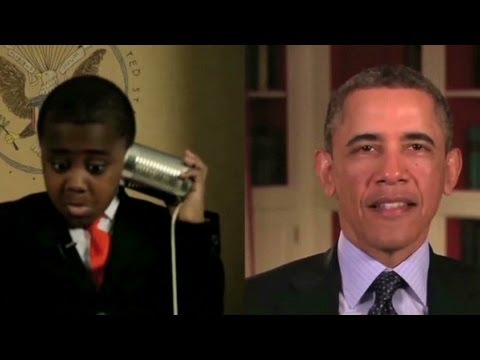 'Kid President,' meet the real president