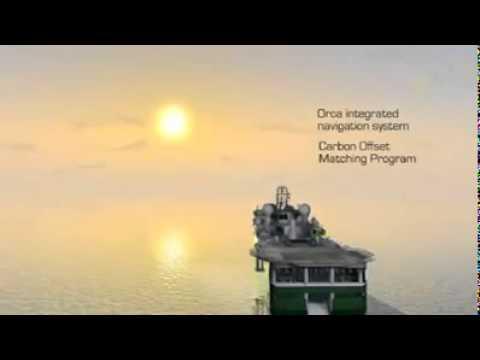 Polarcus 12 streamer 3D4D seismic vessel.mp4