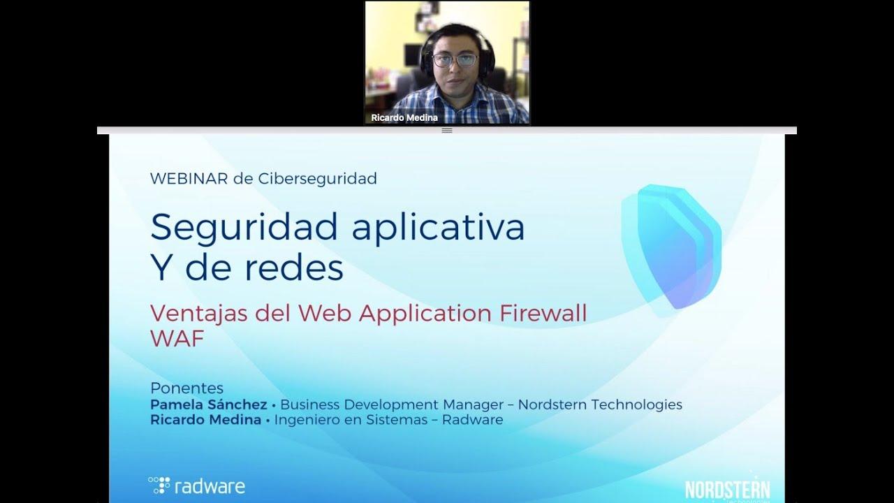 [Video] Webinar Seguridad Aplicativa y de Redes.
