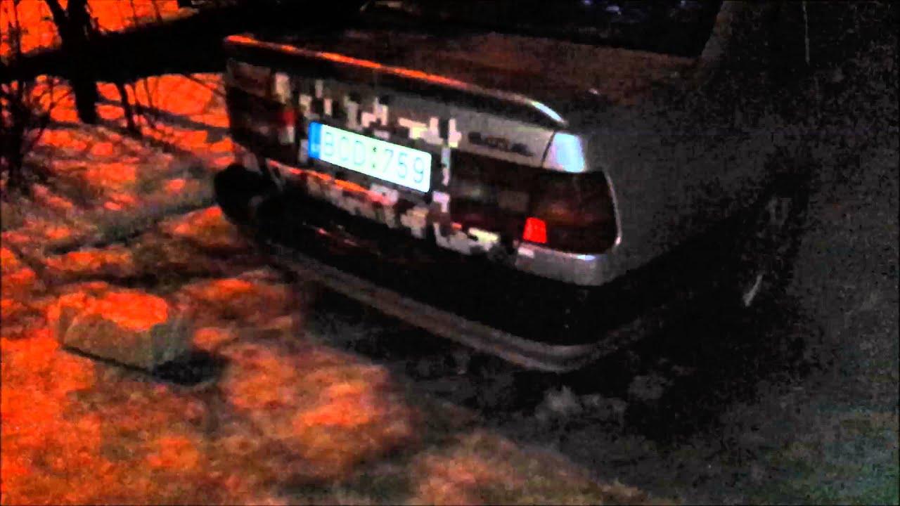 Volvo 940 2 4 Diesel exhaust flames