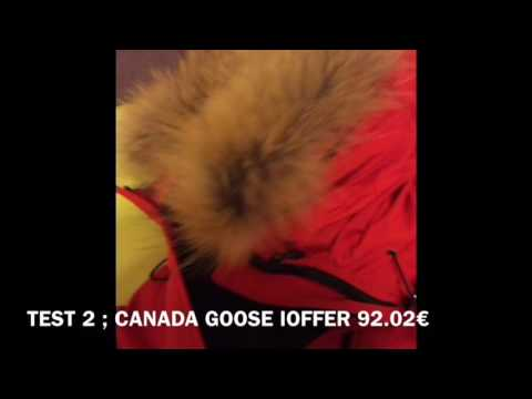 canada goose homme ioffer