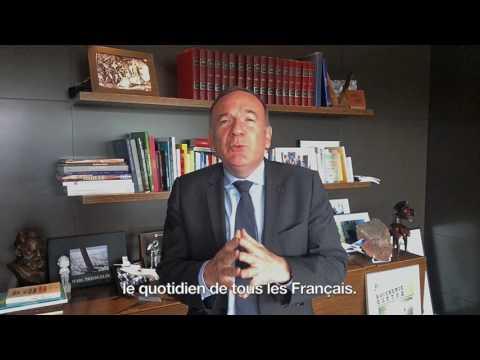 Réaction de Pierre Gattaz à l'élection d'Emmanuel Macron à la présidence de la République française