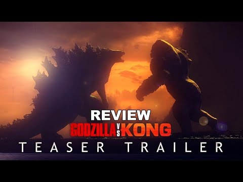 GODZILLA VS. KONG (2020) Teaser Trailer Review Concept - MonsterVerse Movie