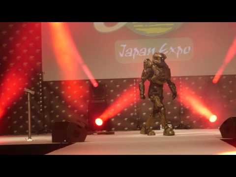 related image - Japan Expo Sud 2017 - Concours Cosplay Dimanche - 09 - Halo - Masterchief