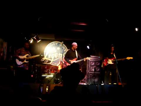 Johnny Rawls Band in der Buddy Guy's Legends Blues Bar in Chicago 30 04 09