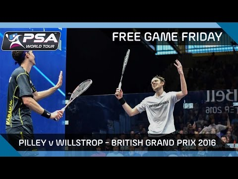Squash: Free Game Friday - Pilley v Willstrop