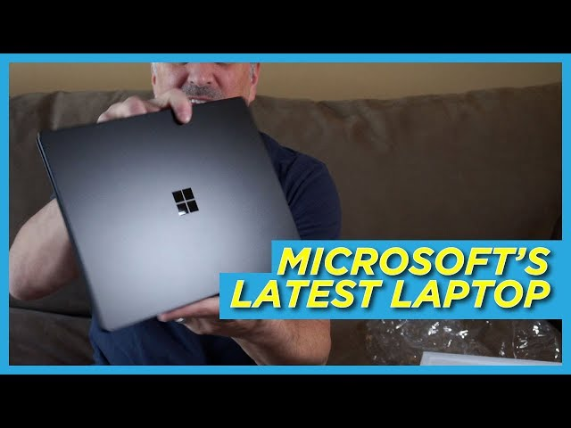 Microsoft Surface Laptop 2 Unboxing