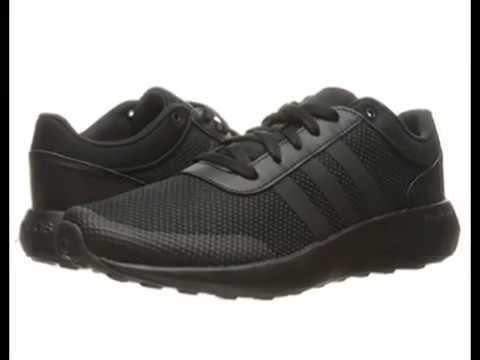 Adidas neo hombres cloudfoam Race corriendo zapato YouTube YouTube zapato a4284f