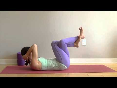 forrest yoga core connection mini sequence  youtube